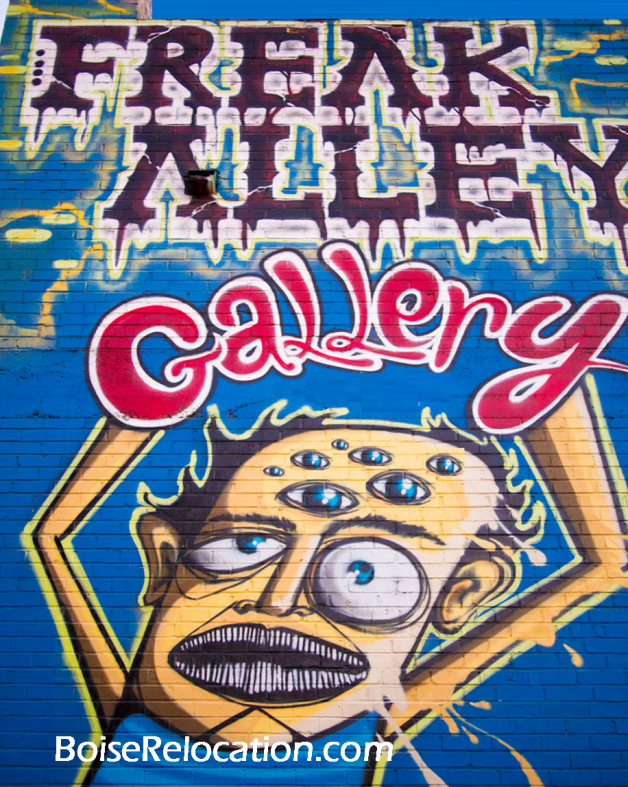 Freak Alley Art Boise Idaho Art Scene