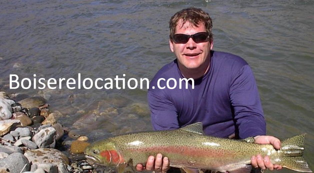 Steelhead Idaho Salmon river clearwater snake river