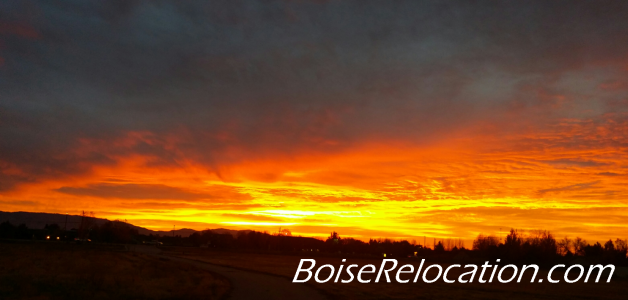 Move To Boise For Great Sunrise Scenery