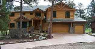 Featherville Log homes